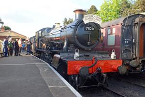 7820 [2014] GWR Manor Class 4-6-0 Dinmore Manor @ Toddington Station [6]
